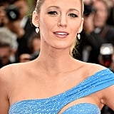 Blake Looked Flawless For Close-Ups of Her Drop Earrings