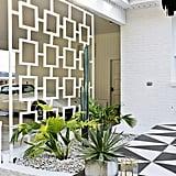 Midcentury-Modern Carport Trellis