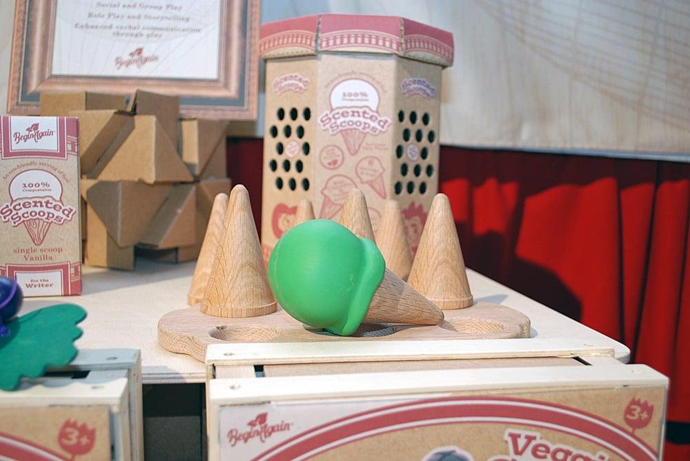 Begin Again Ice Cream Cone Set