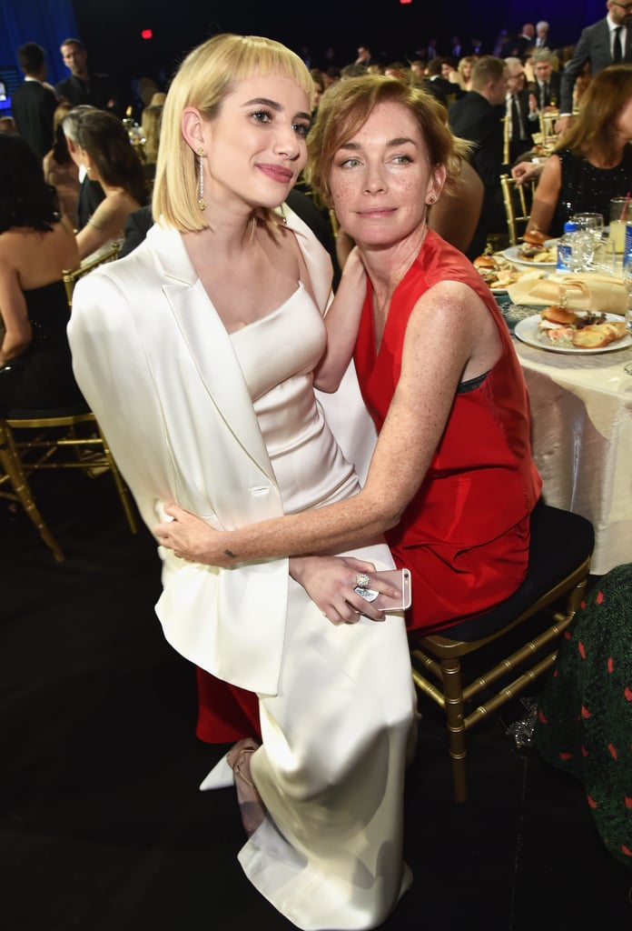 Pictured: Emma Roberts and Julianne Nicholson
