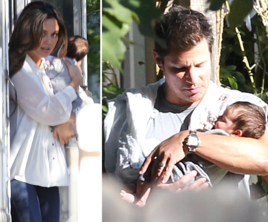 Nick Lachey and Vanessa Minnillo With Son Camden