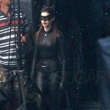 Pictures of Anne Hathaway in Her Catwoman Costume [Video]