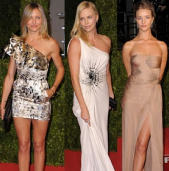 Pictures of Gwyneth Paltrow, Cameron Diaz, Charlize Theron, Taylor Swift, Selena Gomez, and More at Vanity Fair's Oscar Party!