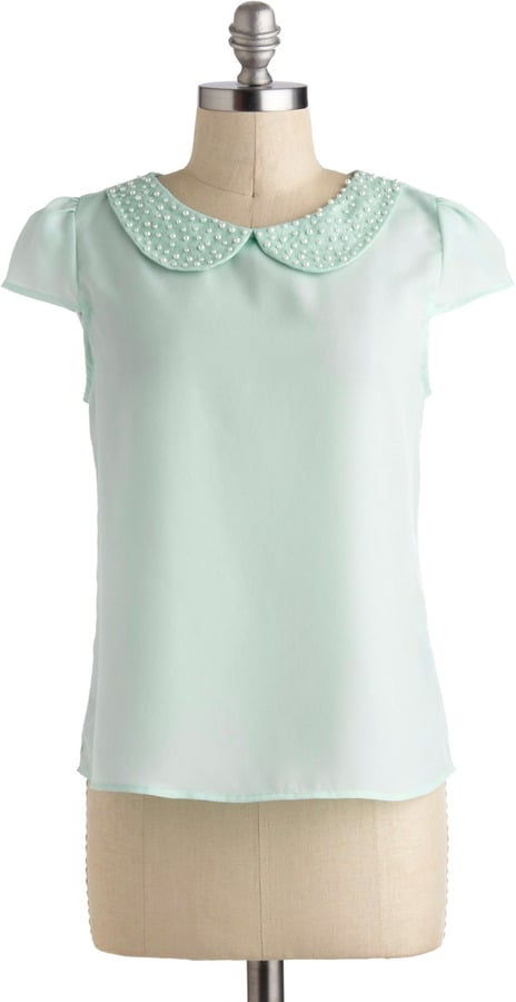 Modcloth Pearly-Cue Top ($33)