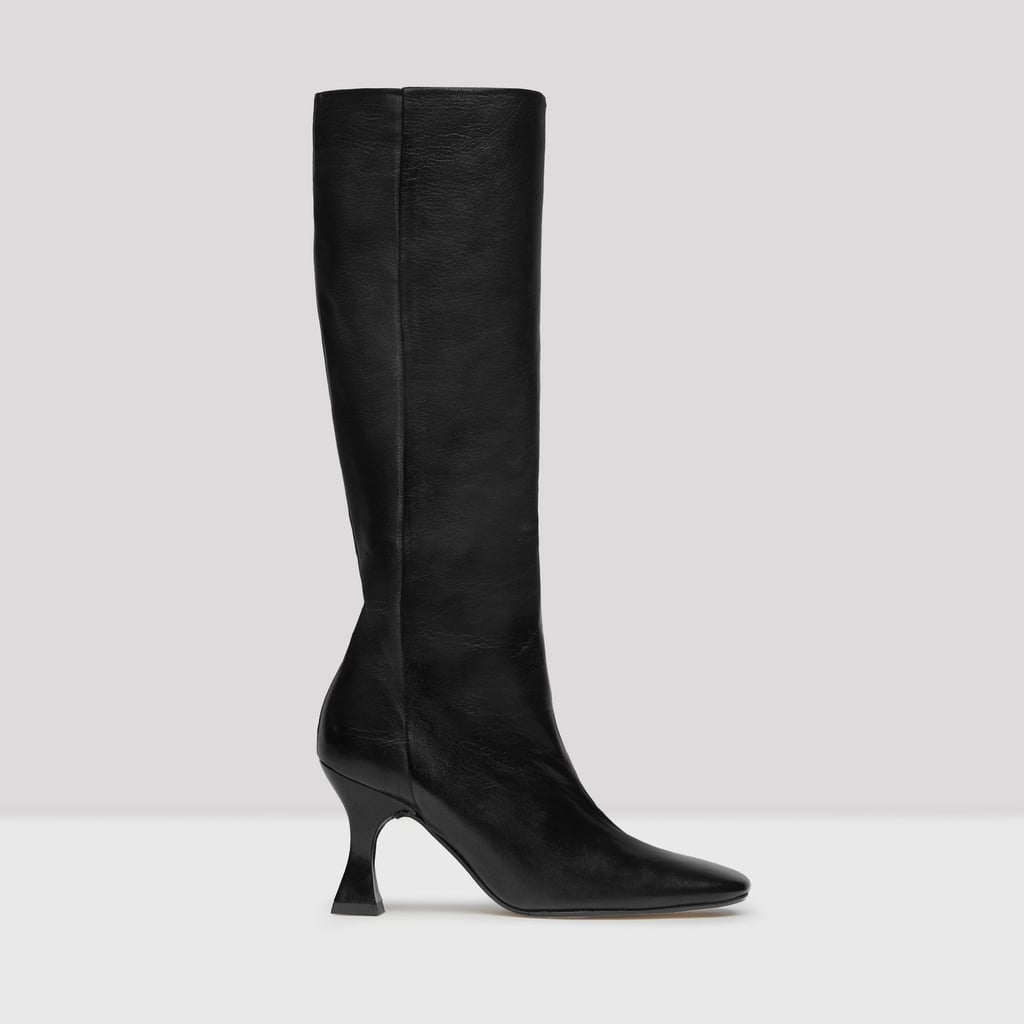 Miista Inga Black Nappa Leather Boots