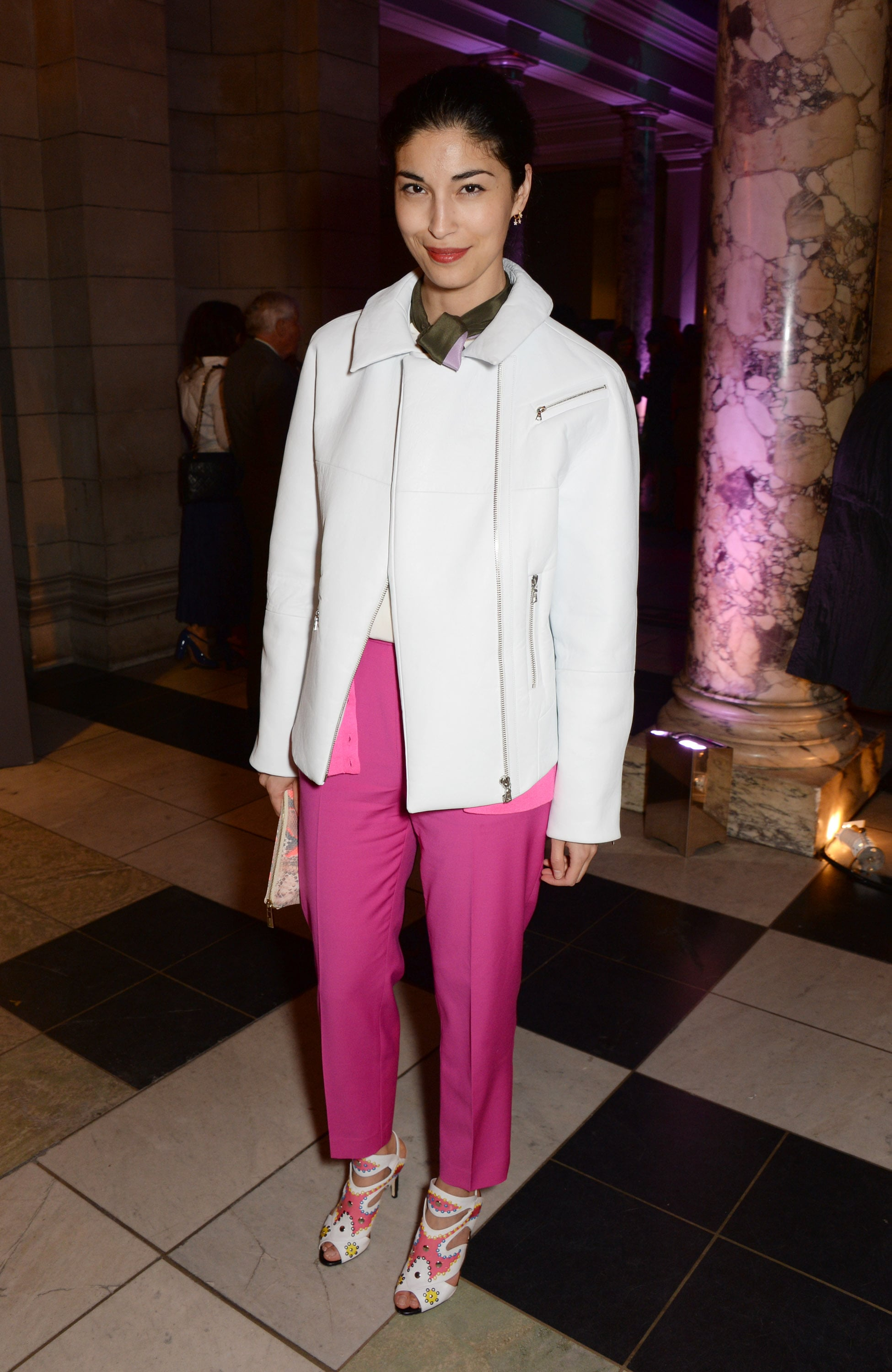 Caroline Issa at the Glamour of Italian Fashion Preview Event