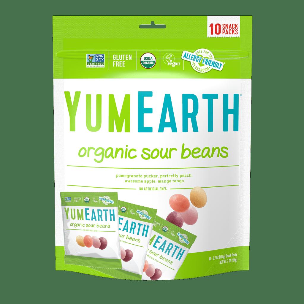 YumEarth Organic Sour Beans