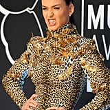 Katy Perry modelled a grill on the red carpet in 2013.
