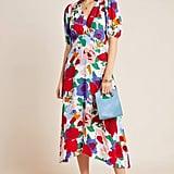 Faithfull Anita V-Neck Midi Dress