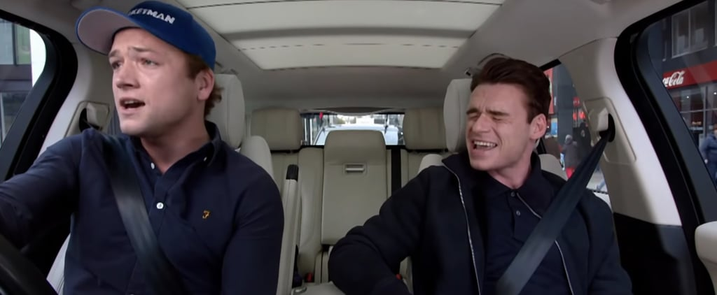 Taron Egerton and Richard Madden Carpool Karaoke Video