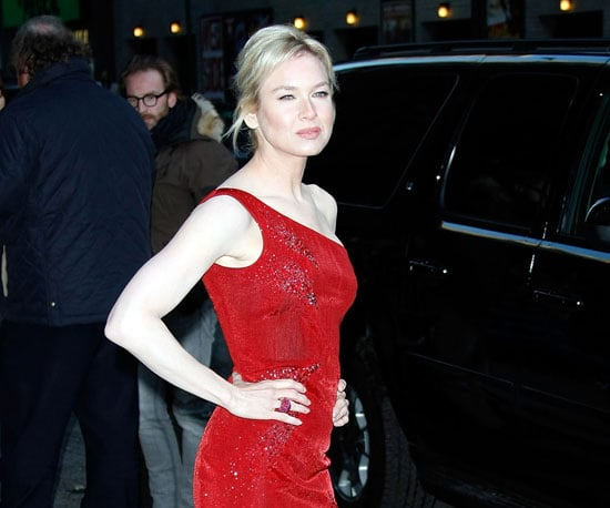 Photo of Renee Zellweger at The Late Show
