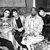 Kim Kardashian and Kanye West at the 2016 Met Gala