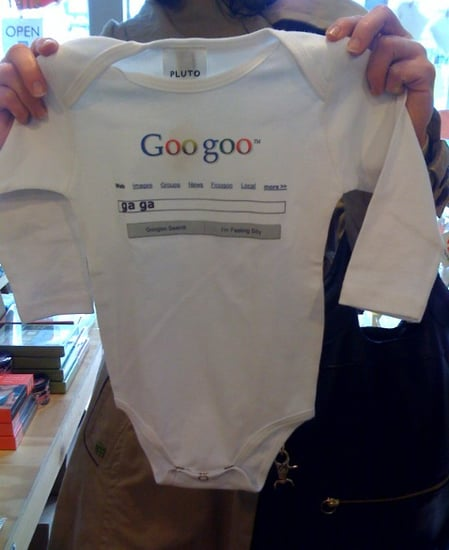 Geeky Baby Onesies at San Francisco's Lola