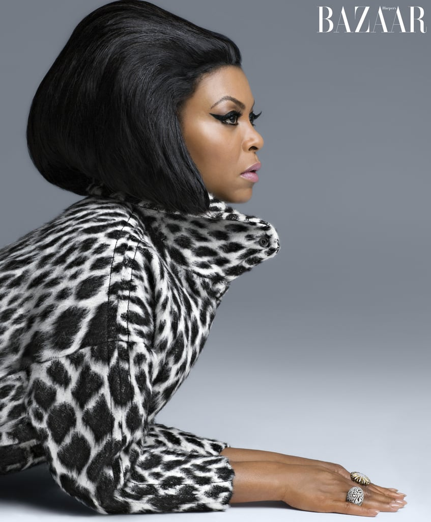 My Check Engine Light Came On N I Took It And Had It: Taraji P. Henson In Harper's Bazaar September 2015