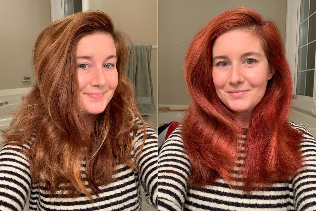 KMS Style Color Spray On Hair Dye Review With Pictures