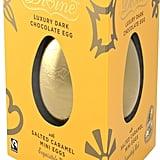 Fair Trade: Divine Luxury Dark Chocolate egg with Salted Caramel Mini Eggs