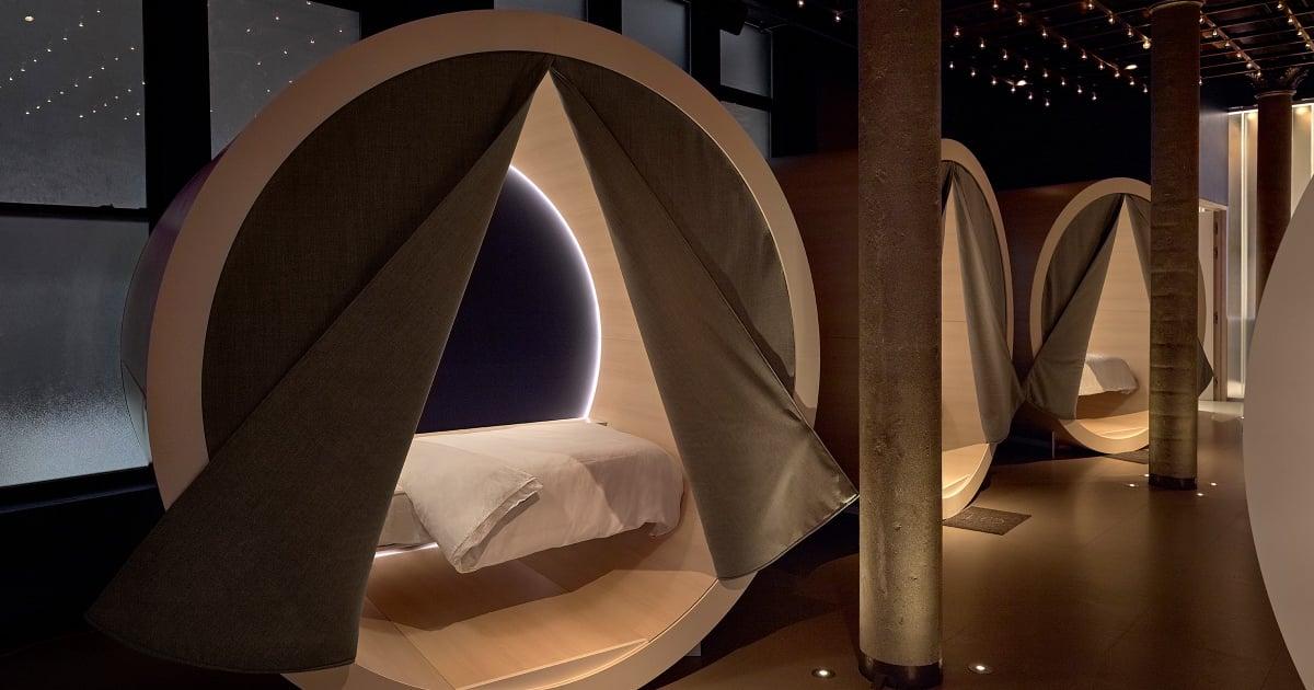 Casper S Sleep Lounge The Dreamery Popsugar Fitness