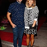 Pip Edwards and Adam Ashley-Cooper at the Romance Was Born MBFWA Show in 2013