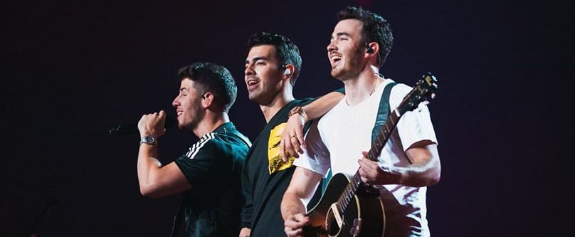 Jonas Brothers Behind-the-Scenes Tour Pictures 2019