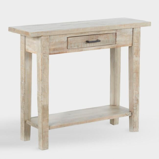 Whitewash-Wood Leigh Console Table