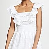 Kos Resort White Eyelet Dress