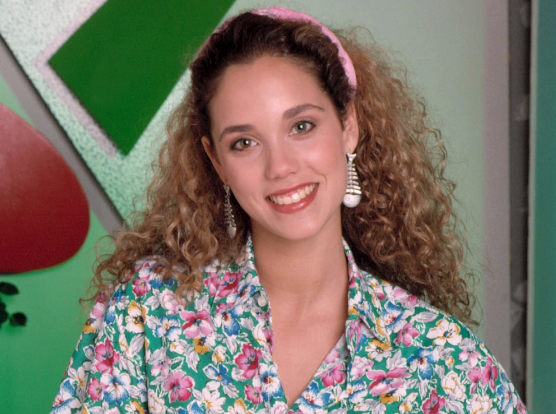 Image result for elizabeth berkley saved by the bell