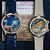 The His and Hers Watches and Trip (starting at $1,090,000) includes not only these watches from Van Cleef & Arpels, but a romantic trip for two to Paris and Geneva as well. We're thinking it must be the trip of a lifetime to cost over $1 million!