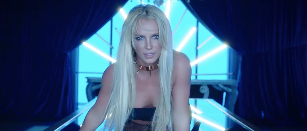 Britney spears sexy music video