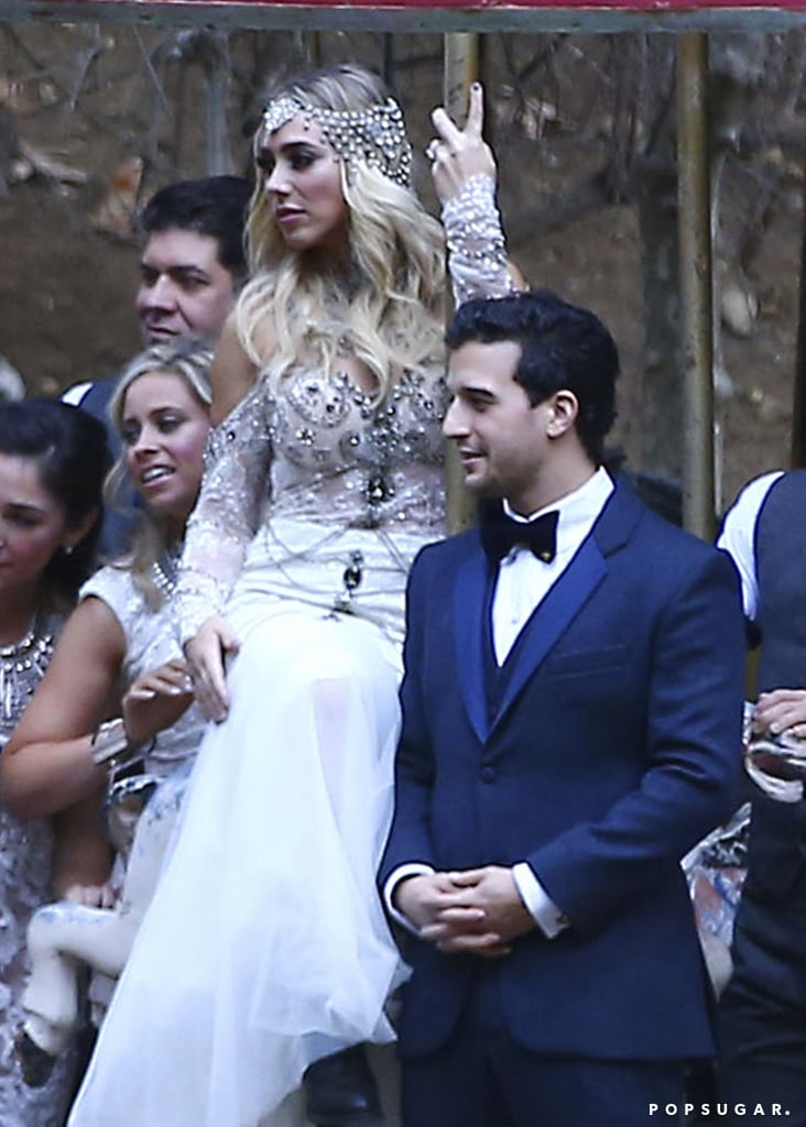 Mark Ballas And Bc Jean Wedding Pictures 2016 Popsugar Celebrity