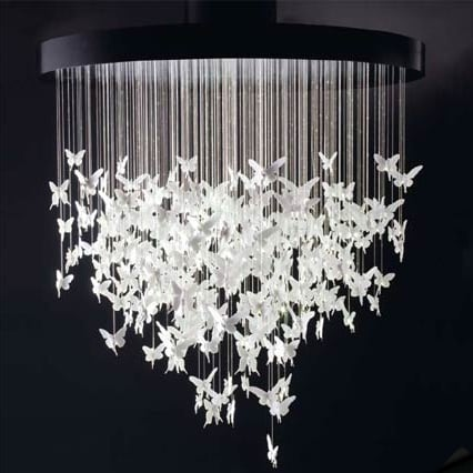 Desire/Acquire: Butterfly Chandelier