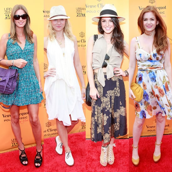 Celebrities at Veuve Clicquot Polo Classic 2011 including Naomi Watts, Nicky Hilton, Isla Fisher and Nacho Figueras