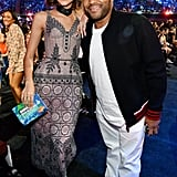 Pictured: Anthony Anderson and Zendaya