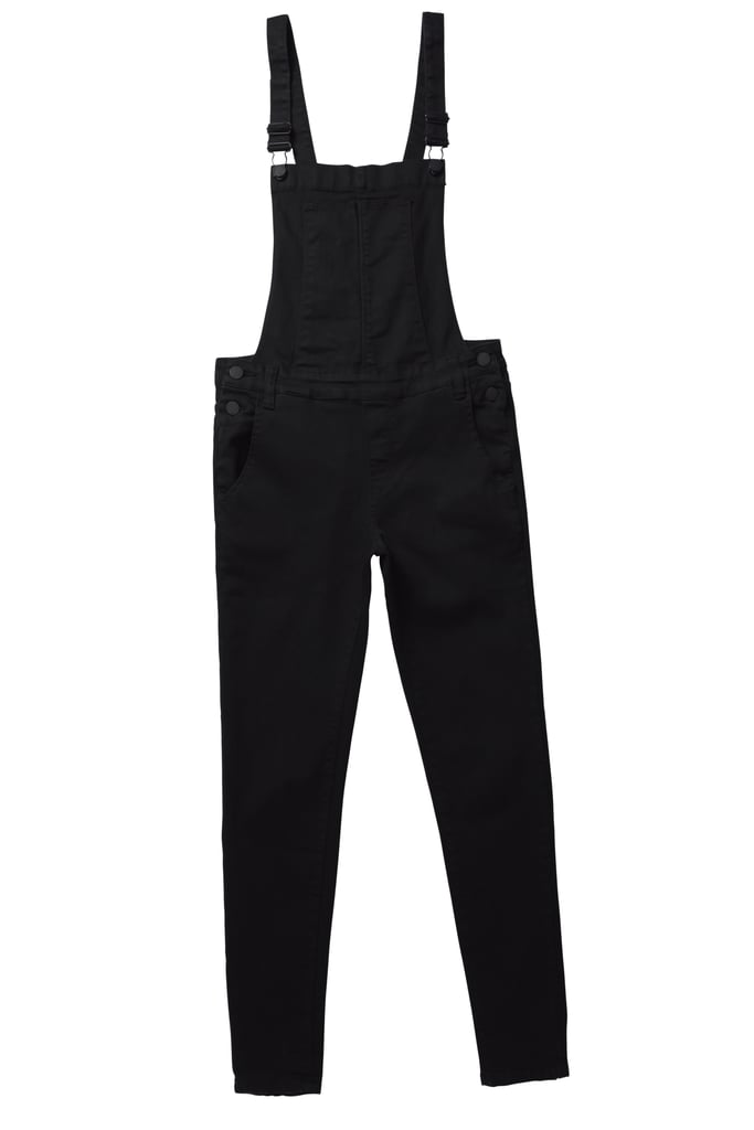 Kendall and Kylie x PacSun Black Overalls