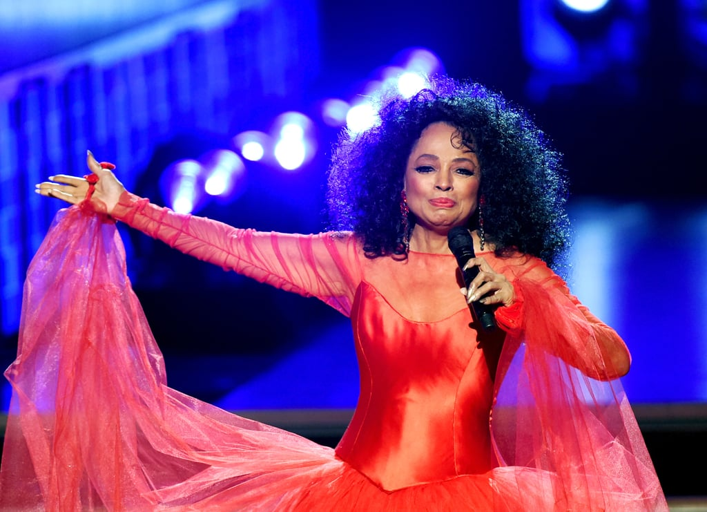 "There ain't no mountain high enough that Diana Ross can't climb, and she proved just that with her beautiful Grammys performance on Sunday. The 74-year-old music icon was honored at the ceremony for her ""profound impact in the world of music,"" and she celebrated with a very special ""75th Diamond Diana birthday performance."" Ross — who turns 75 on March 26 — looked absolutely stunning in a red gown and performed a melody of her songs, including ""The Best Years of My Life"" and ""Reach Out and Touch (Somebody's Hand)."" Fun fact: Ross received the Lifetime Achievement Award from the Grammys in 2012. Oh, and in case you were wondering, she's still got it!      Related:                                                                                                           Lady Gaga, Drake, Cardi B, and Everyone Else Who Won a Grammy This Year               WATCH A TRUE ICONIC LEGEND show the girls how it's been done. Miss DIANA ROSS! pic.twitter.com/r5ut0Vaudx — Opinionated Me (@opinion8dmecom) February 11, 2019"