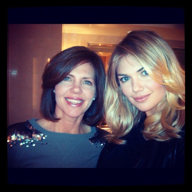 We can see where Kate Upton gets her stunning looks from, after catching sight of her mum. Source: Instagram user kateupton