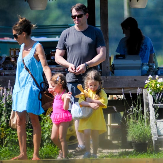 Sarah Jessica Parker and Twins in Hamptons