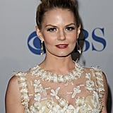 Jennifer Morrison wore a pretty white dress.