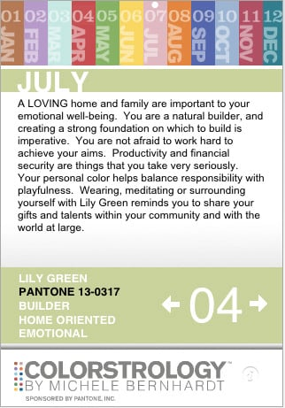 Colorstrology iPhone App From Pantone Is Free