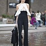Lena Perminova at Fashion Week Fall 2016