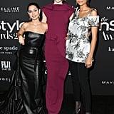 Alexa Demie, Hunter Schafer, and Zendaya at the InStyle Awards 2019