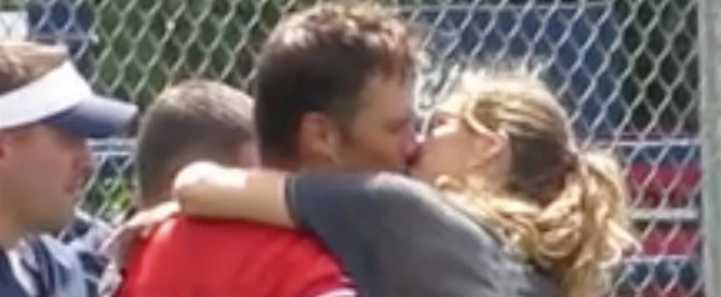 ​Gisele Bündchen and Tom Brady Kissing August 2018