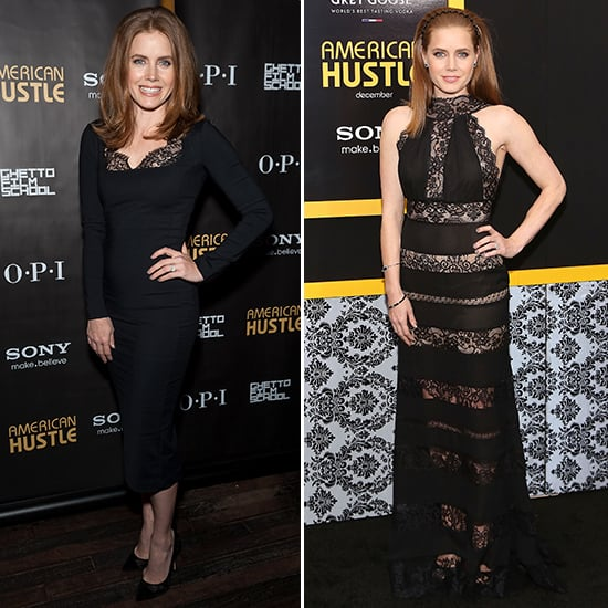 Amy Adams Black Lace Dress