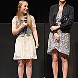 Chloë Sevigny linked up with her co-star Lana Green for a Q&A at SXSW.