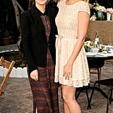 Rachel Bilson and Lauren Conrad linked up to celebrate ShoeMint's first anniversary.