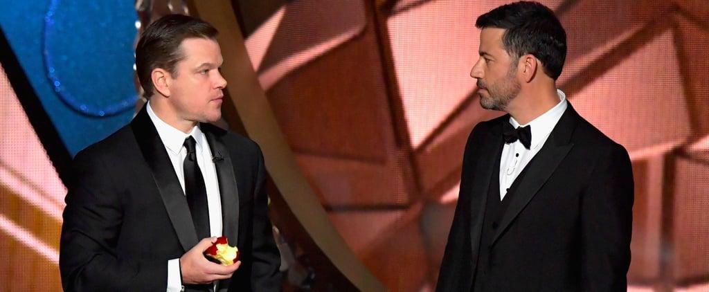 Jimmy Kimmel and Matt Damon Feud Details