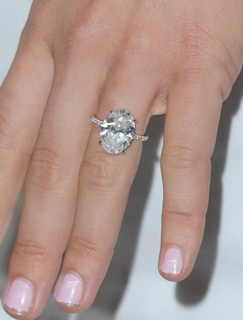Julianne Hough Celebrity Engagement Rings 2015