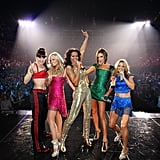 The Spice Girls showed off their respective signature style at their world tour in London in 2007.