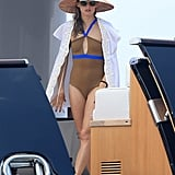 A One-Piece Suit Can Be Just as Statement Making as a Bikini