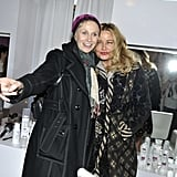 Jane Lynch took a photo with Jennifer Coolidge at the Talent Resources Daytime Lounge on Sunday at the 2013 Sundance Film Festival.