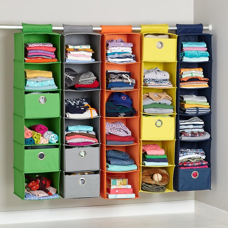 An Organization System To Maximize Shared Closet Space Is